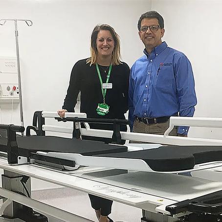 Symphony™ Patient Transport System enhances and simplifies patient transport and transfer at NNUH