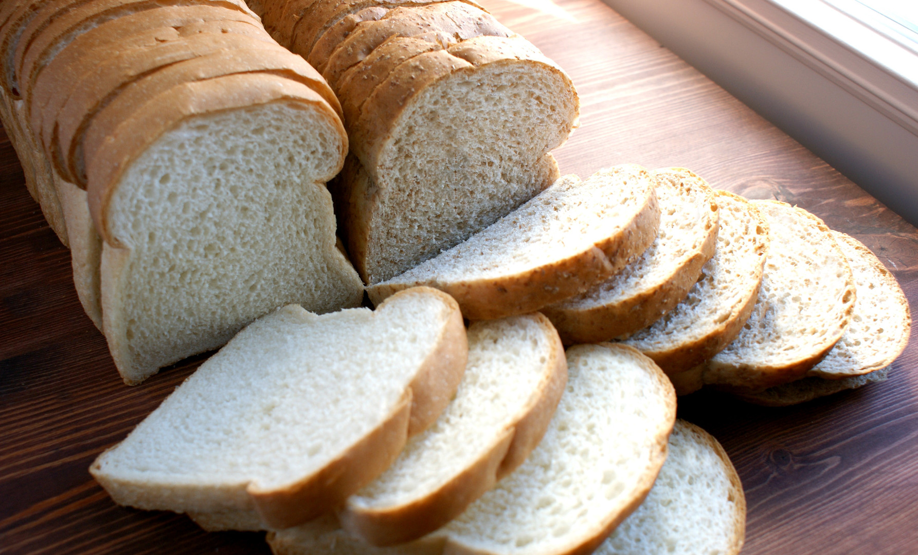 White and Whole Wheat