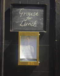 Menu Grouse Andrew Edmunds Restaurant Lo