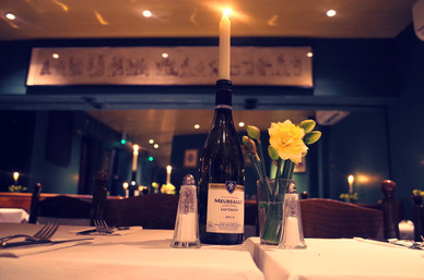 Romantic restaurant London Andrew Edmund