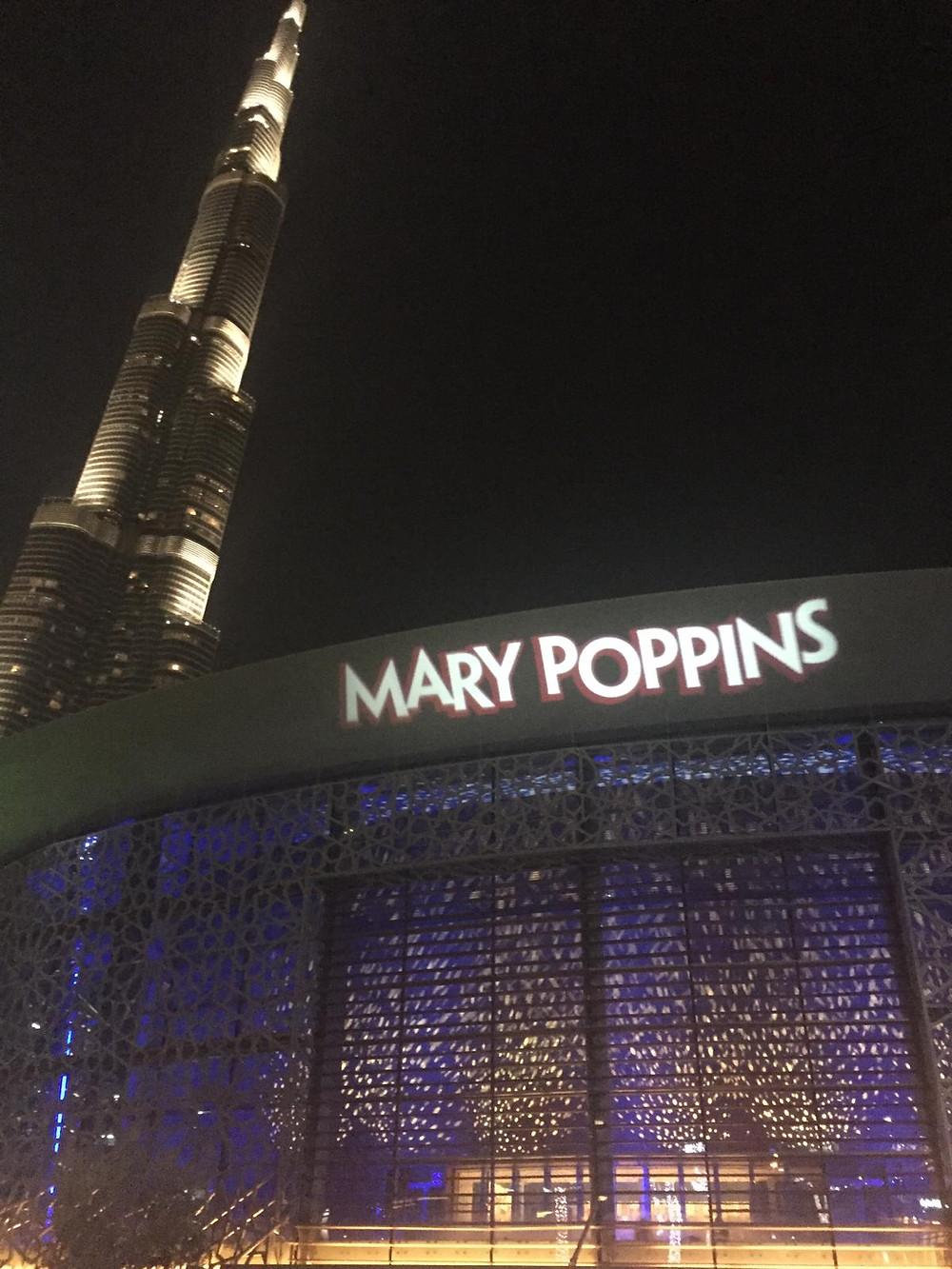 Mary Poppins opening night, Dubai