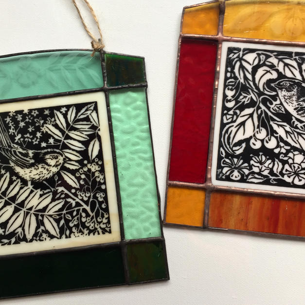 Stained glass pictures