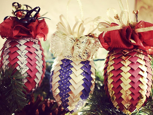 Paper Art Ornament