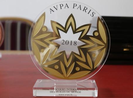 Remise des prix 16 ème Concours International «Les huiles du monde» AVPA