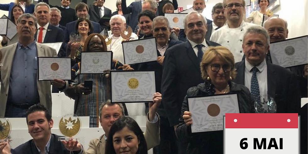19ème concours LES HUILES DU MONDE : section huiles d'olives