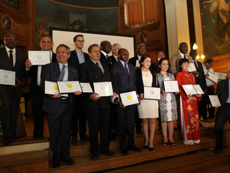 Cérémonie de Remise des Prix Concours AVPA Café 2015