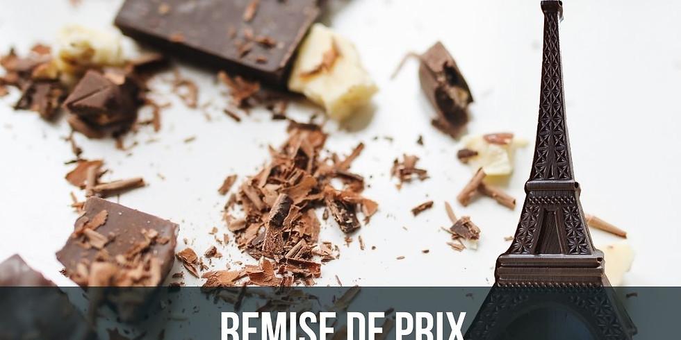 Remise de prix: 1er Concours des chocolats élaborés à l'origine