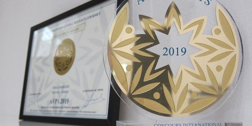 "Award ceremony 5th International ""Locally Roasted Coffees"" Contest  AVPA"