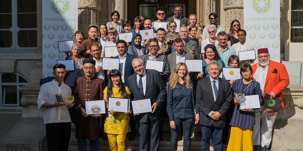 2nd  Teas of the World   International Contest AVPA - Paris 2019