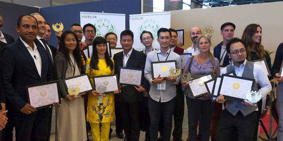 "3rd ""Teas of the World"" International Contest AVPA Paris 2020"