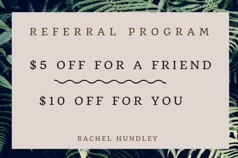 Refer a Friend Special