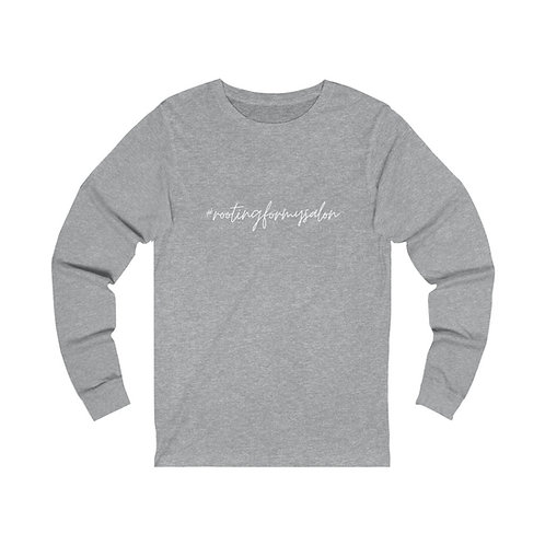 #rootinformysalon - Unisex Jersey Long Sleeve Tee