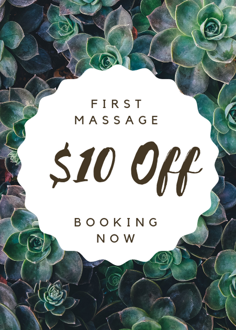 First Time Client Massage Special