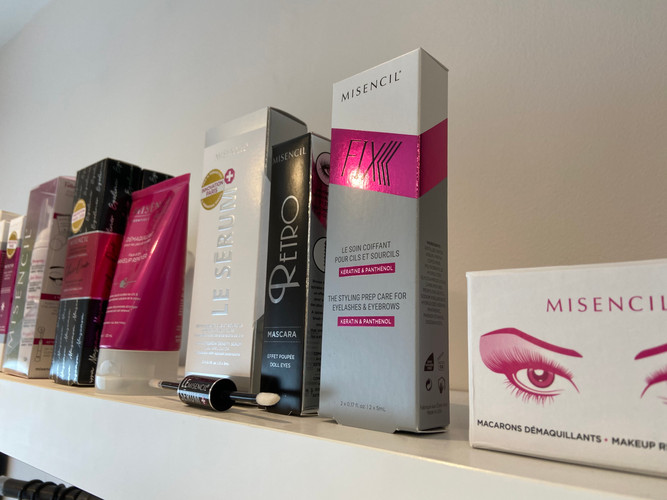 Misencil Lash care products