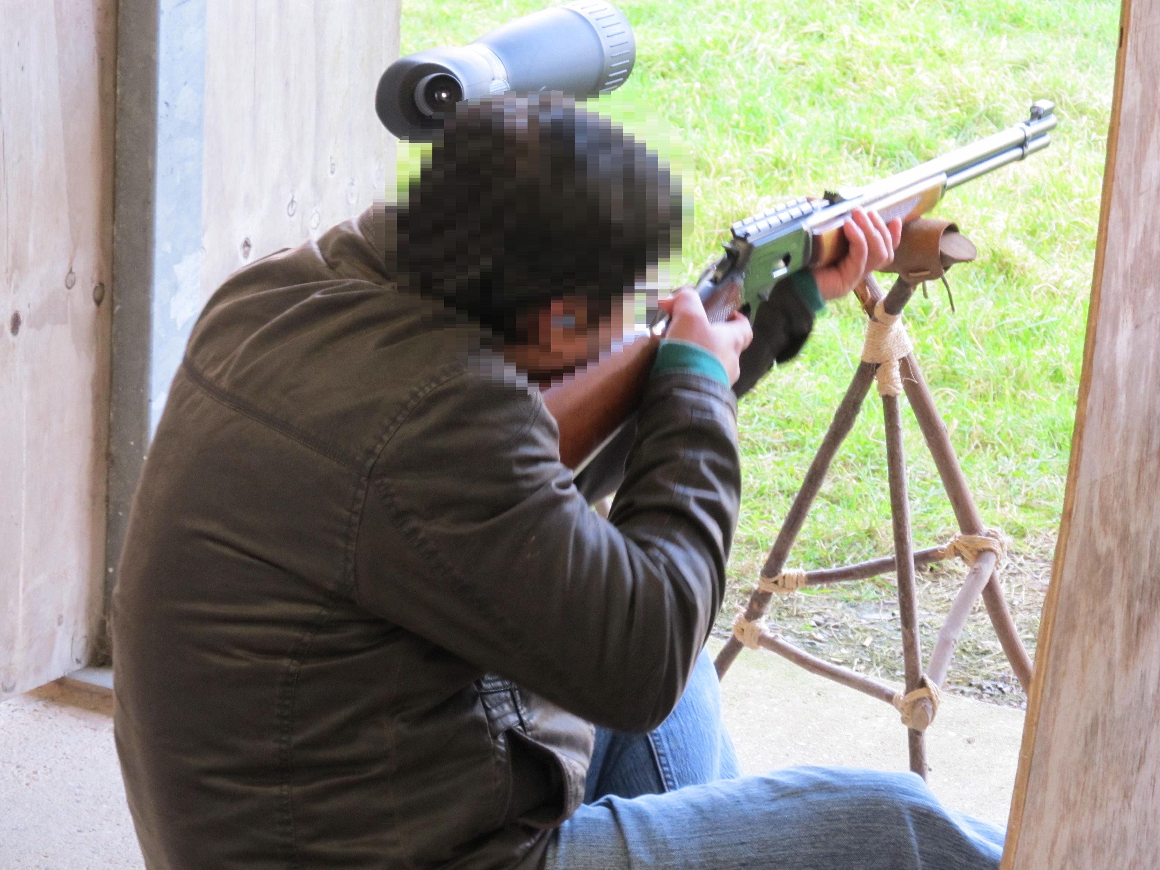 B range shooting