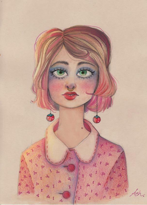 1950 Strawberry Girl