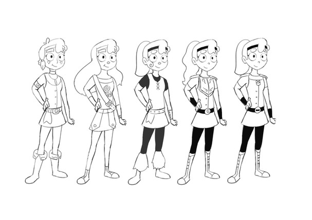 """Dawn"" Character Design"