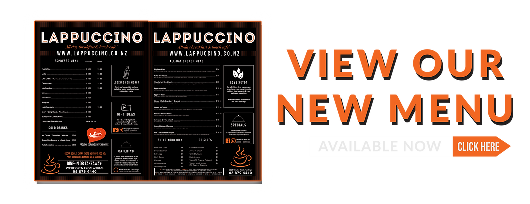 New Menu~Lappuccino