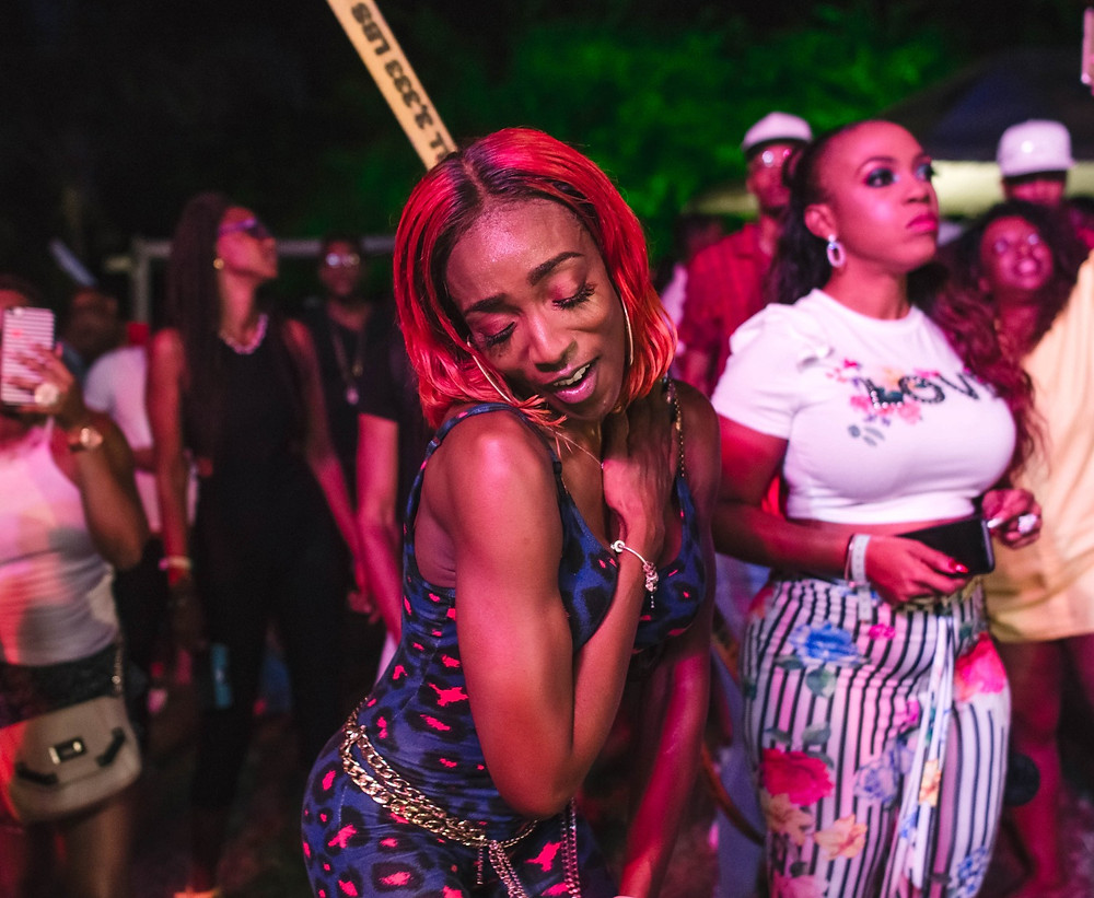Nikita at Xhosa's We Dont Pose We Party, Crop Over 2018