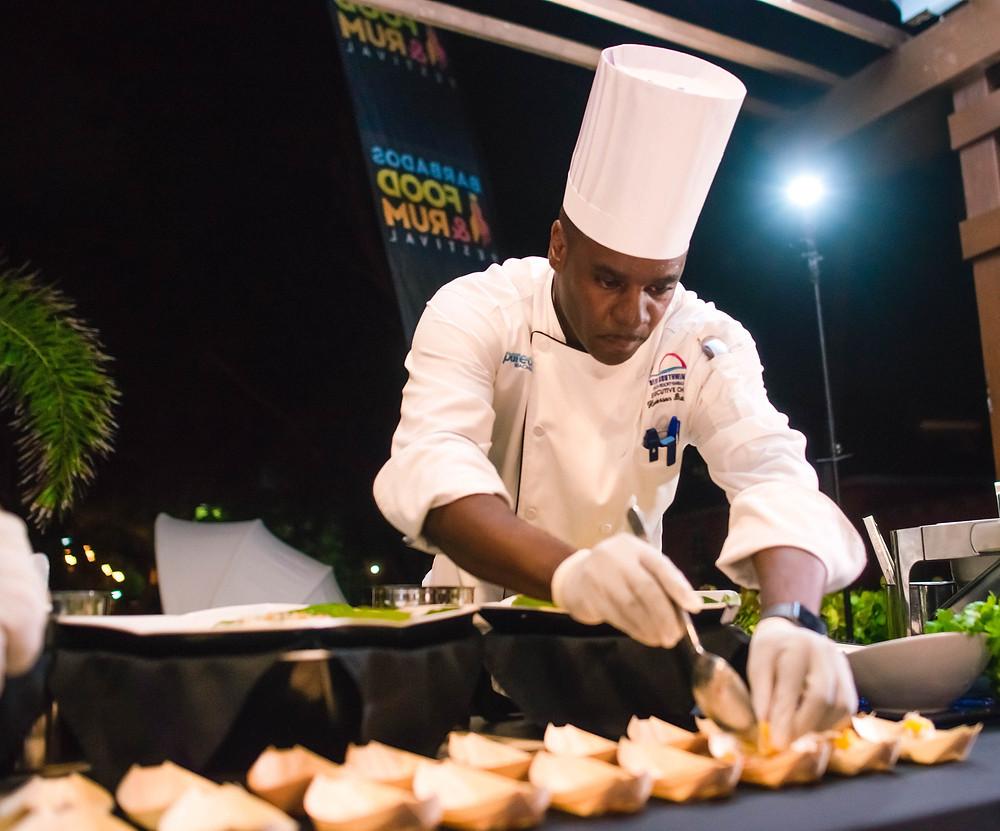 Food and Rum Gourmet Safari Launch Rum and Tings