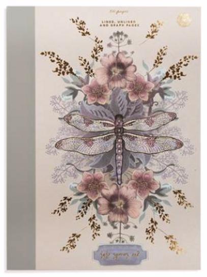 Papaya Clothbound notebook