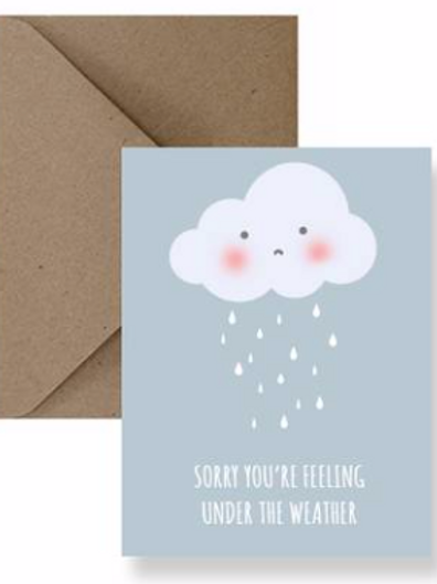 IMPAPER Get well soon Card