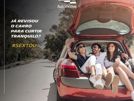 #Sextou😎 Já revisou o carro para curtir tranquilo?