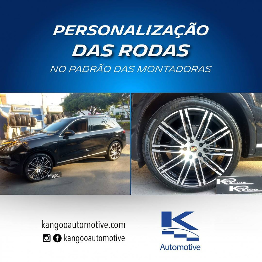 Personalização de Rodas Kangoo Automotive