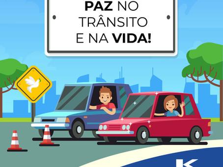 PAZ no trânsito e na Vida!