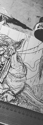 Master Yoda #drawing #czech #novyvestec