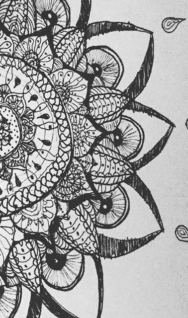 #tattoo #drawing #paper #iphone #evening