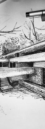 The end #jajmlesart #fallingwater #archi