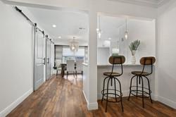 bar & kitchen entry