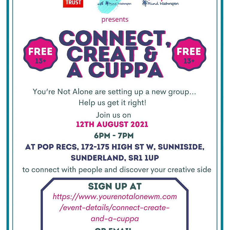 Connect, Create and a Cuppa!