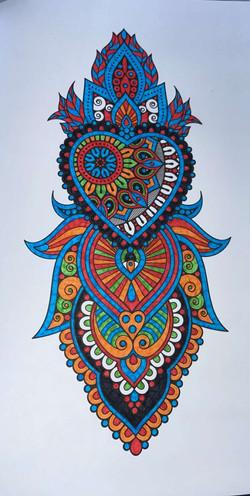 Mandala Artwork - By Georgia