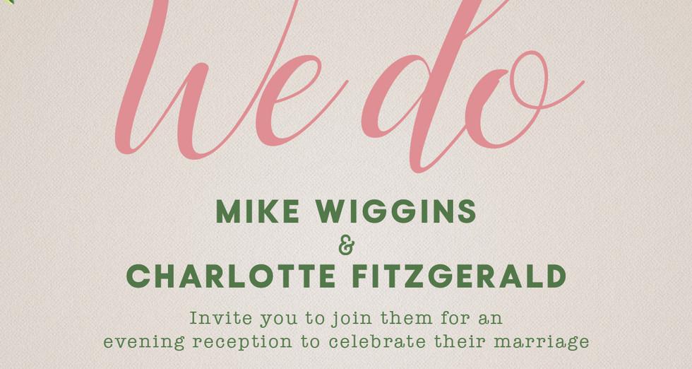 Charlotte Mike Wedding invite evening FR