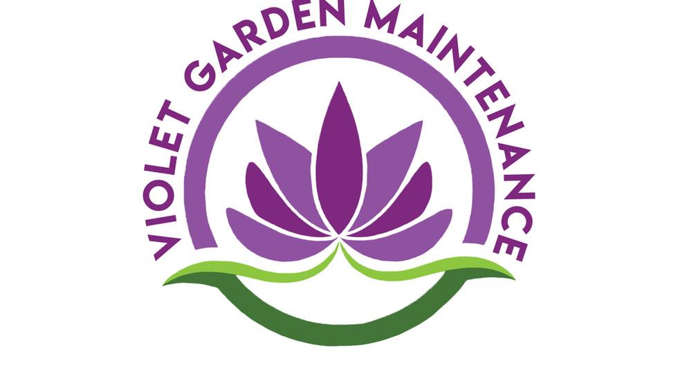 Logo designed for Sussex-based garden maintenance company VGM