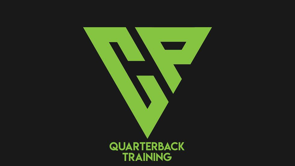 Logo designed for American football coaching company 'CP Quarterback Training'