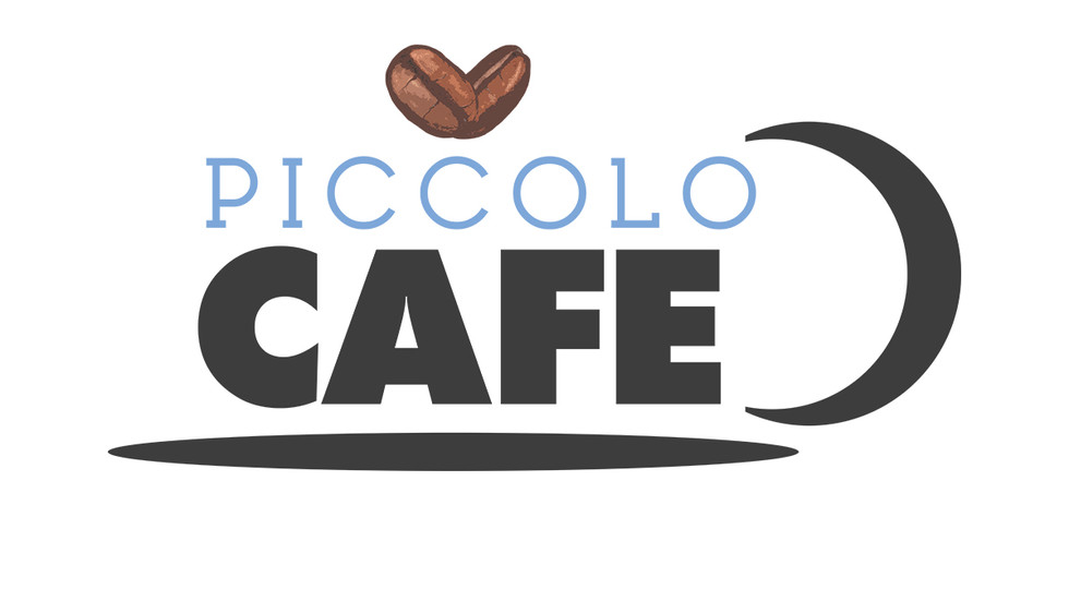 Logo created for Piccolo's Cafe.