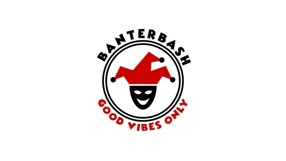 Logo created for London-based events company company Banterbash.