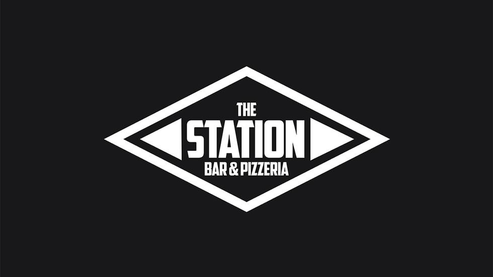 Logo designed for Bright & Hove based bar/restaurant The Station.