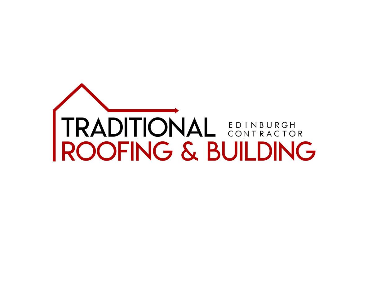 Modernisation of a the original logo for Edinburgh-based company Tradional Roofing & Building.