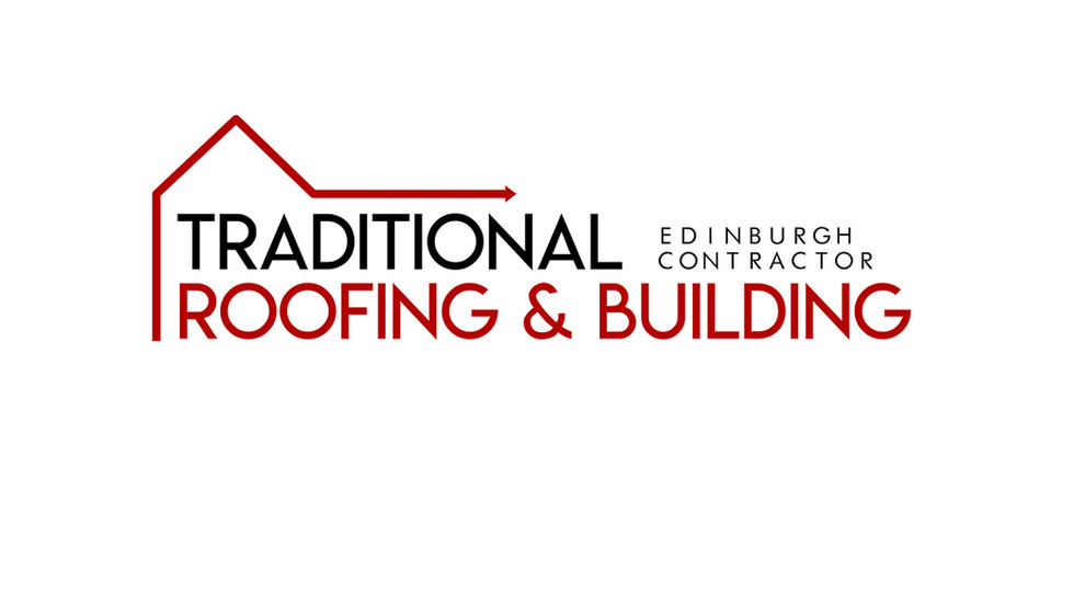 Modernisation of a the original logo for Edinburgh-based company Tradional Roofing & Building.