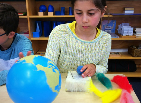 How to Fit Handwork in to the Montessori Environment