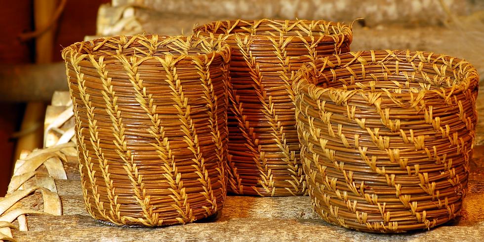 Pine Needle Basket Making - Full day