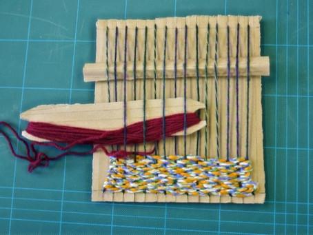 Making Cardboard Looms