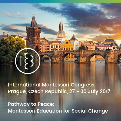International Montessori Congress Banner, Prague.