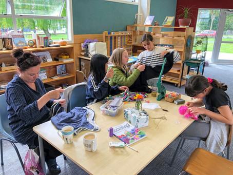 Sip'n'Stitch Community Mending Cafe