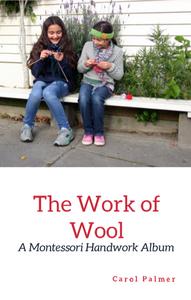 Cover of Montessori Handwork ALbum