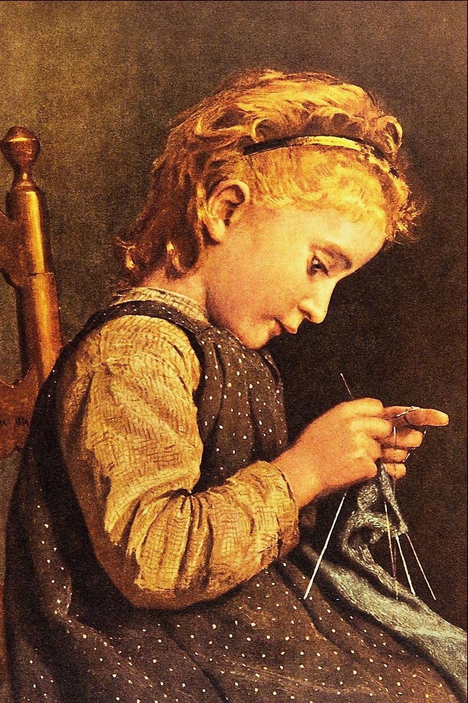 https://commons.wikimedia.org/wiki/File%3ALittle_Girl_Knitting_-_Albert_Anker.png